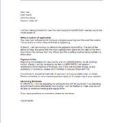 Sample Rate Change Letter