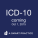 ICD-10 Coding Coming October 1st