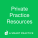 Private Practice Resources